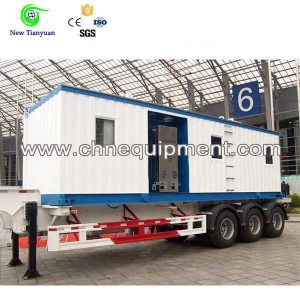 China Mobile CNG Refueling Station for CNG Daughter Station on sale