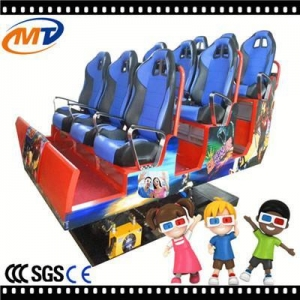 China Luxury simulator 9 seats 5d cinema equipment electromagnetic system on sale