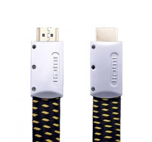 China High Quality Flat HDMI Cable with Nylon Sleeves on sale