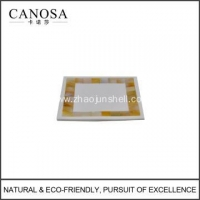 China Handmade Golden Mother of Pearl Soap Dishes on sale