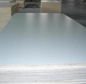 China Matt finish white HPL Formica plywood on sale