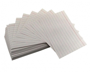 China White Index Card on sale