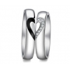 China Engravable Couple's Tungsten Domed Wedding Rings Bands for Him and Her Golden / Black for sale