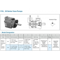 V10/V20 series vane pumps