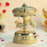2016 hot Products High Quality Carousel Music Boxes Chinese Imports Wholesale