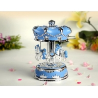 Crown Carousel Music Boxes Supplier