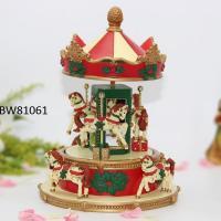Christmas Carousel Music Boxes