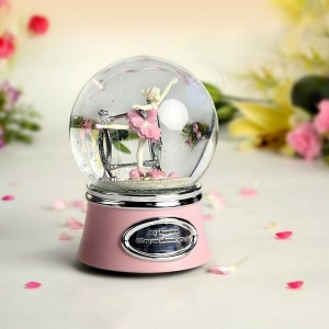 China Ballerina Girl Snow Globe Music Boxes on sale