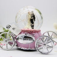 Snow Globe Music Box Valentine Gifts