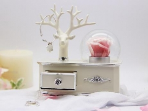 China Antler Casket Music Box on sale