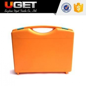 China Snap closures design lockable plastic tool storage box on sale