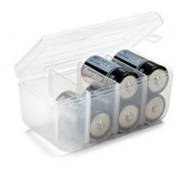 China C Battery Case - Storage Holder for 8 C Batteries on sale