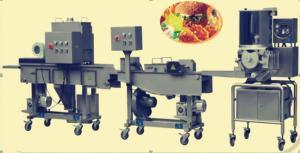 China Automatic Hamburger Meatchicken Filletfish Steak Process Line on sale