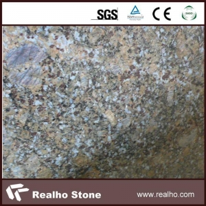 China Butterfly Blue Granite Stone Tiles on sale