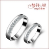 China Myshine designer silver jewellery costume jewelry rings 925 silver couple ring for sale