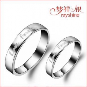 China Factory 925 sterling silver ring for men and women wholesale silver ring on sale