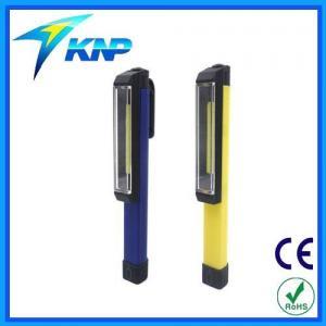 China COB White Light Magnetic Pocket Work Light Mini Flashlight Pen Light on sale