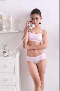China bamboo fiber little girls teen bra, cotton Student Bra little girls on sale