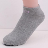 Grey Socks Plain Socks low cut women socks