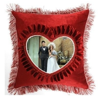 China top quality heart shape cushion cover on sale