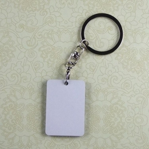 China Sublimation Blank MDF Keyring MN-MKC2 on sale