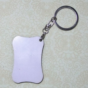 China Sublimation Blank MDF Keyring MN-MKB2 on sale