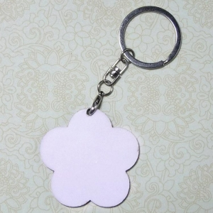China Sublimation Blank MDF Keyring MN-MKD2 on sale