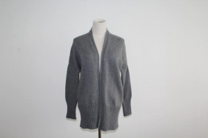 China Sweater Coat For Women Jumper Plain Knitted Cardigan on sale