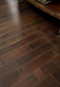 China 3-Ply Ecosolid bamboo flooring E0 grade ES-VIN-SHA-3 on sale