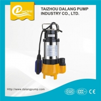 China 0.75kw High Efficiency Float Switch Stainless Steel Submersible Sewage Water Pump on sale
