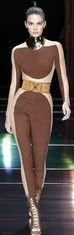 China Anti - Static Brown Long Sleeve Jumpsuit Pants Full Length For Celebrity on sale