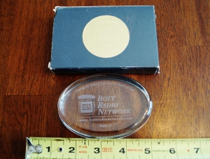 China BOTT Radio Network BRN Desk Paperweight on sale
