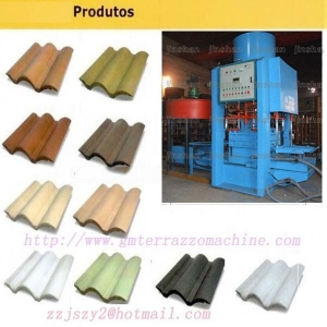 China JS - 128 type roof tile machine on sale