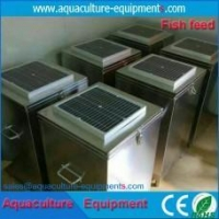 China Automatic solar fish feeder for fish farming and pond on sale
