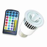 China LED Panel Light 5W LED RGB Spot light on sale