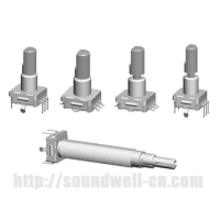 RS11 Metal handle rotary reset switch