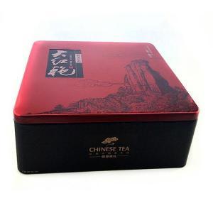 China Custom printed tin boxes sale / tea tin box round, tea tin box on sale