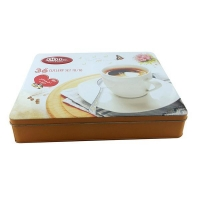 Custom printing food tin container manufacturer