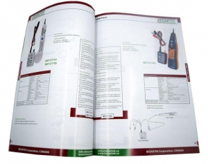 China Art Paper A4 Company Product Catalogue Printing Service on sale