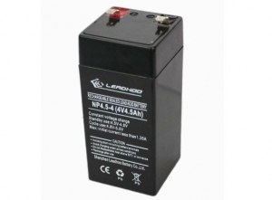 China 4V/4.5Ah UPS rechargeable sealed Lead-acid battery on sale
