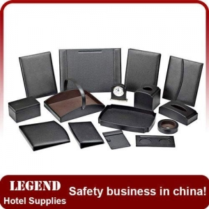 China Customized leatherette hotel guest service directory on sale