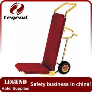 China Portable lightweight folding titanium bellman cart on sale