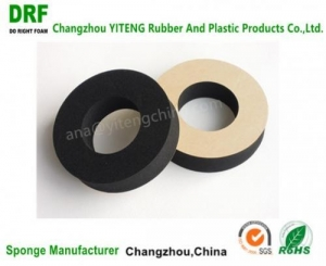 China CR sponge with highly elastic washer,flame backup ring on sale