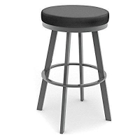 Amisco Swice Backless Swivel Bar Stool 30 in.