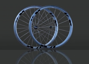 China HF-R40(C/T) 2013 40mm AERO carbon wheels on sale