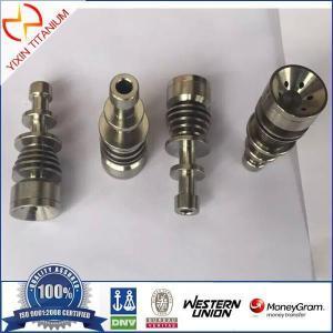 China Gr2 Titanium Domeless Nail Smoking on sale