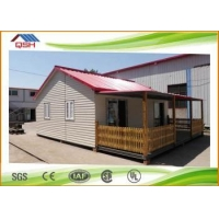 Luxury modern low cost China prefab homes