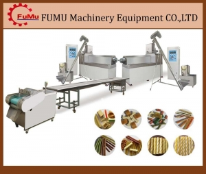 China China single screw extruder pet chew food machinery plant on sale
