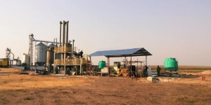 China Biomass & MSW gasification power plant on sale