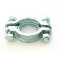 China Double Bolt Hose Clamp on sale